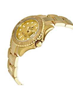 olex yacht master 16628 champagne dial oyster replica rear