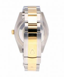 rolex datejust 126333 steel yellow gold champagne dial oyster