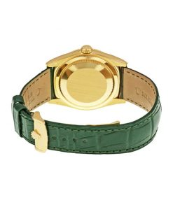 rolex day date 118138 v5 yellow gold green dial replica 1