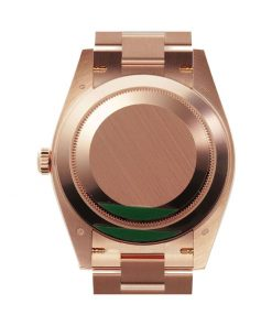 rolex day date 228235 kw rose gold stripe dial 2