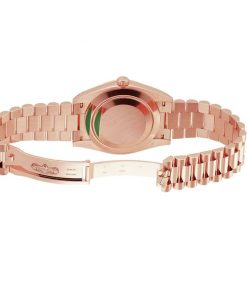 rolex day date 228235 kw rose gold stripe dial 3