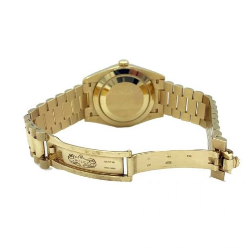 rolex day date 228238 kw yellow gold champagne dial replica 2