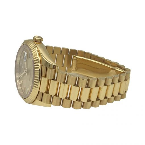 rolex day date 228238 kw yellow gold champagne dial replica3 1