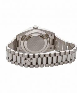rolex day date 228239 kw stainless steel silver stripe dial 3