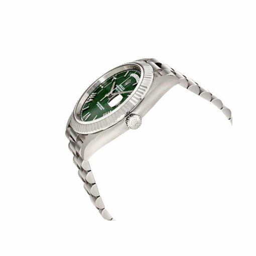 rolex day date 40 228239 stainless steel green dial oyster replica