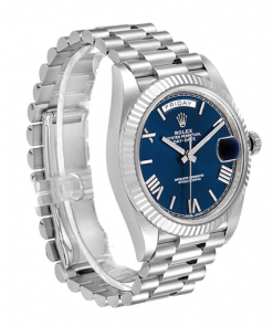 Rolex Day-Date 40 228239 EW Stainless Steel Blue Dial Oyster Replica