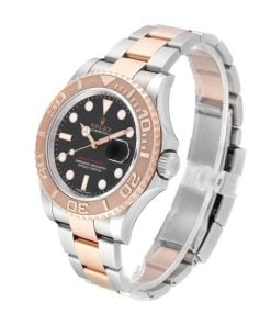 rolex yacht master 116621 rose gold automatic brown dial replica