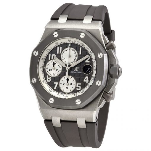 audemars piguet royal oak offshore chronograph ghost automatic grey dial mens watch 26470io.oo .a006ca.01