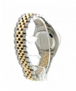 rolex datejust 279381rbr steel everose gold diamond automatic chocolate with diamond dial oyster replica