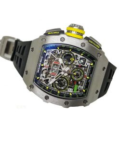 richard mille rm 011 03 titane flyback chronograph automatic replica2