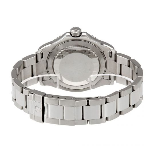 rolex yacht master platinum dial steel and platinum 116622plso oyster replica back