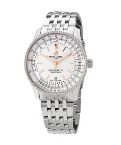 breitling navitimer automatic 41 steel a17326211g1a1 white dial